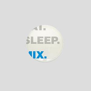Eat Sleep Mix Mini Button