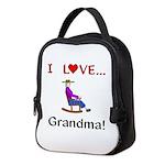 I Love Grandma Neoprene Lunch Bag