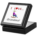 I Love Grandma Keepsake Box