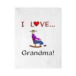 I Love Grandma Twin Duvet
