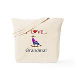 I Love Grandma Tote Bag