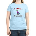 I Love Grandma Women's Light T-Shirt