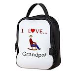 I Love Grandpa Neoprene Lunch Bag