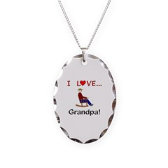 I Love Grandpa Necklace