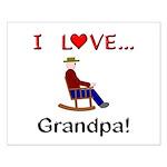 I Love Grandpa Small Poster