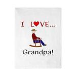 I Love Grandpa Twin Duvet