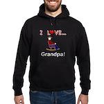 I Love Grandpa Hoodie (dark)
