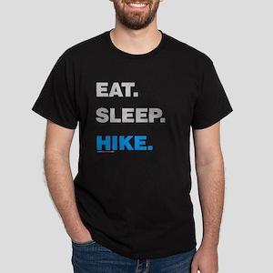 Eat Sleep Hike Dark T-Shirt