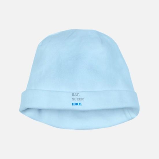 Eat Sleep Hike baby hat