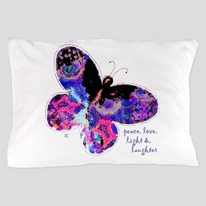 Peace Butterfly Pillow Case