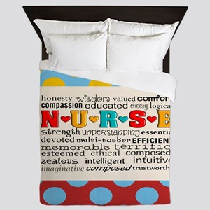 Nurse Positive Pillow CP Queen Duvet