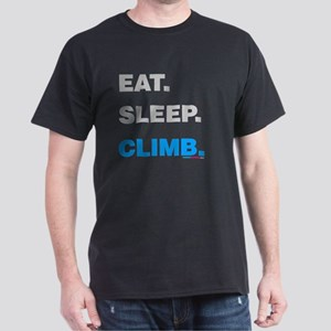 Eat Sleep Climb Dark T-Shirt