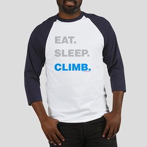 Eat Sleep Climb Baseball Jersey