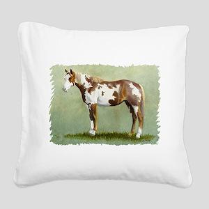 Paint horse Square Canvas Pillow