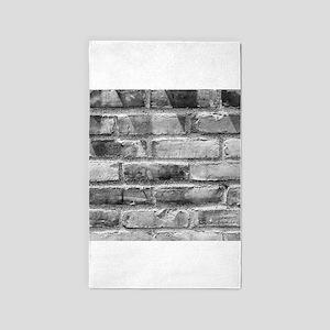 Brick Wall 11 3'x5' Area Rug