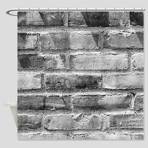 Brick Wall 11 Shower Curtain