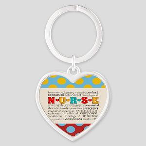Nurse Positive Pillow CP Keychains