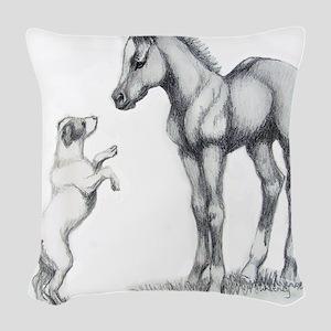 zzzzzzzzzzzzz 687 Woven Throw Pillow