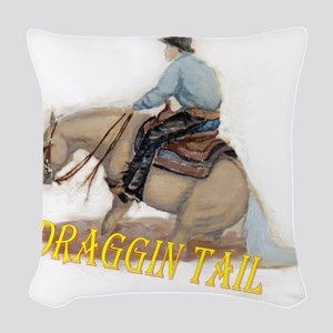 Draggin Tail Woven Throw Pillow