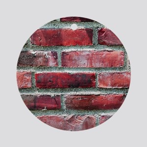 Brick Wall 2 Ornament (Round)