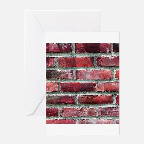 Brick Wall 2 Greeting Cards