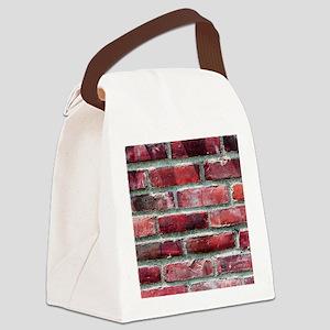 Brick Wall 2 Canvas Lunch Bag