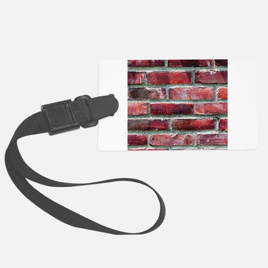Brick Wall 2 Luggage Tag