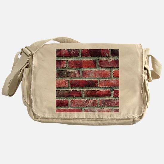 Brick Wall 2 Messenger Bag