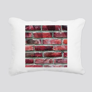 Brick Wall 2 Rectangular Canvas Pillow