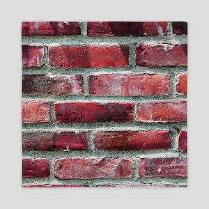 Brick Wall 2 Queen Duvet