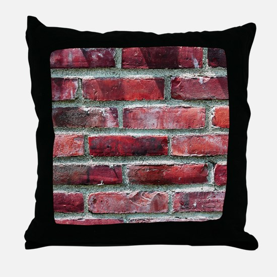 Brick Wall 2 Throw Pillow