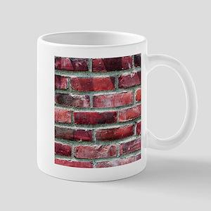 Brick Wall 2 Mugs