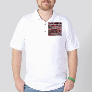 Brick Wall 2 Golf Shirt