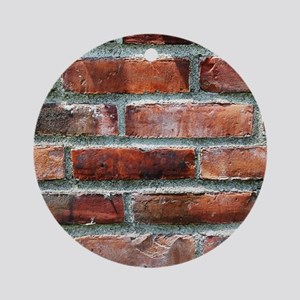 Brick Wall 1 Ornament (Round)