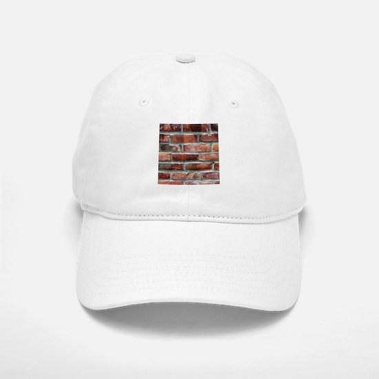 Brick Wall 1 Baseball Baseball Baseball Cap