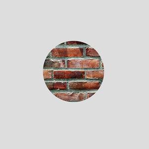 Brick Wall 1 Mini Button
