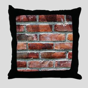 Brick Wall 1 Throw Pillow