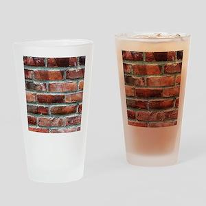 Brick Wall 1 Drinking Glass