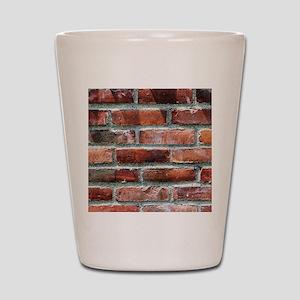 Brick Wall 1 Shot Glass