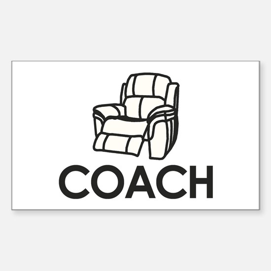 Armchair Coach Decal