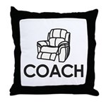 Armchair Coach Throw Pillow