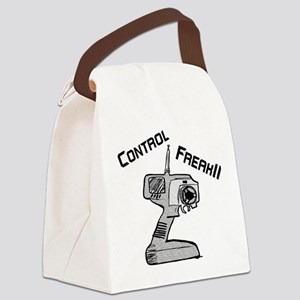 Control Freak Canvas Lunch Bag
