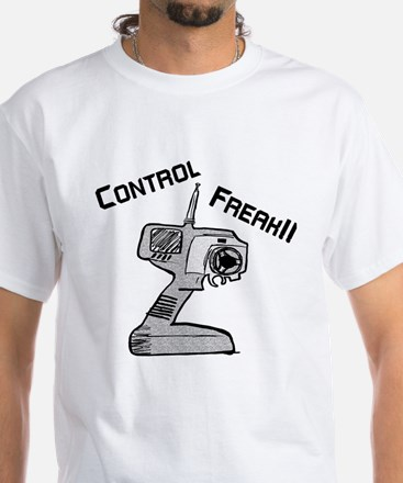 Control Freak White T-Shirt