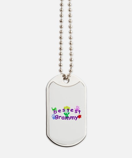 Bestest Grammy Dog Tags