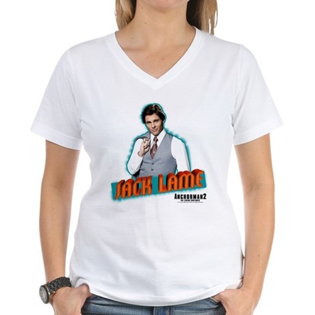 Jack Lame Women's V-Neck T-Shirt