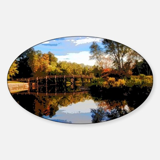 Old North Bridge Sticker (Oval)