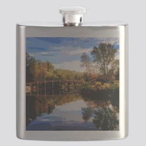 Old North Bridge Flask