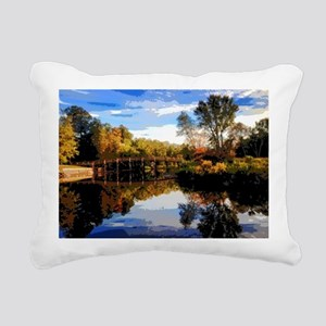 Old North Bridge Rectangular Canvas Pillow