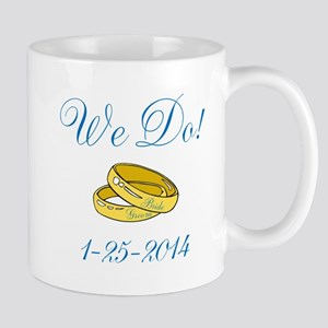 We Do Personalized Dates Mugs
