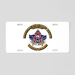 DUI - 224th USA Security Agency Bn Aluminum Licens
